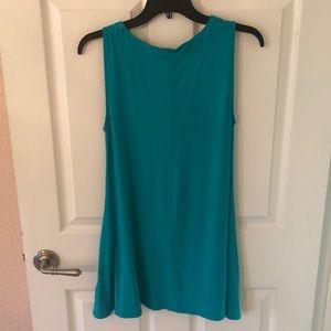 8b9297bc502 Cupio Blush Turquoise Tunic NWT